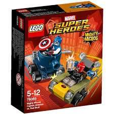 Tesco: Lego Marvel Super Heroes Mighty Micros Captn America v Red Skull £1.25 @ Tesco Liverpool One