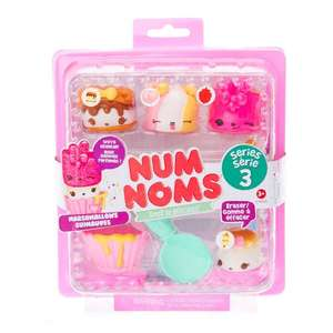 num noms starter pack £2  & buy 3 get 3 free across whole site! @ Claires