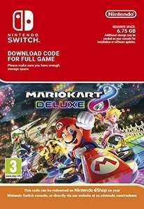 Mario Kart 8 Deluxe for Nintendo Switch digital download cheaper £43.70 at CDKeys