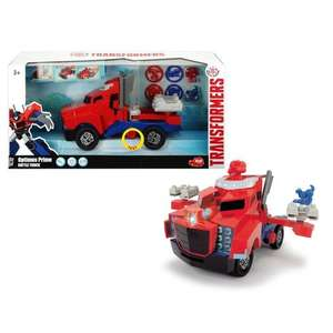 Transformers Light & Sound Optimus Prime Battle Truck £7 @ Smyths (Online + Instore)