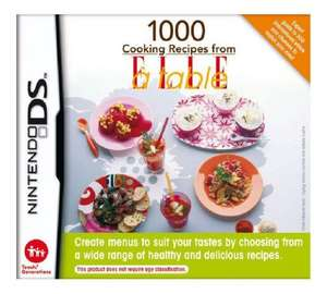 (DS Lite) 1000 Cooking Recipes from Elle a Table £1.49 (was £3.99!!!) @ Argos