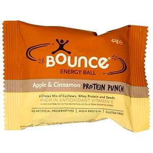 Bounce Apple & Cinnamon Energy Ball 49p ea (expiry date May) - hollandandbarrett