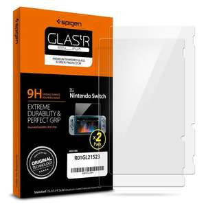 Nintendo Switch Spigen Glass Screen Protectors (£5.99 prime) £9.99 non prime Sold by Spigen and Fulfilled by Amazon
