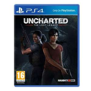 Uncharted: The Lost Legacy £24.99 @ Smyths