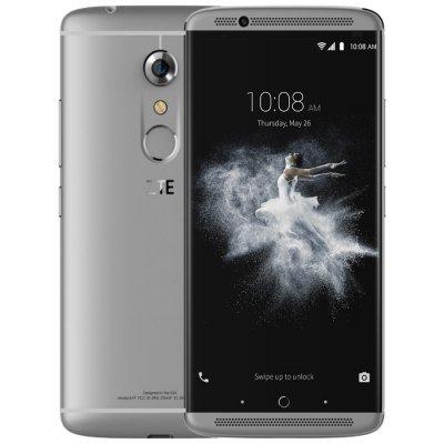 ZTE AXON 7 4G Phablet  -  GRAY 185805105 Android 6.0 5.5 inch MSM8996 Quad Core 2GHz 4GB RAM 64GB ROM HiFi Fingerprint Scanner Bluetooth 4.1 NFC B20 MicroSD - £318.10 Gearbest