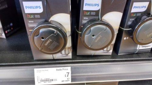 Philips Hue light bulbs £7 @ Asda living - Maidstone