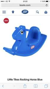 Little tikes rocking horse - £17.24 at boots (C&C)