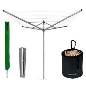 Brabantia 50m Rotary Airer + Free Accessories + Free Del - £69.95 @ Philip Morris & Son