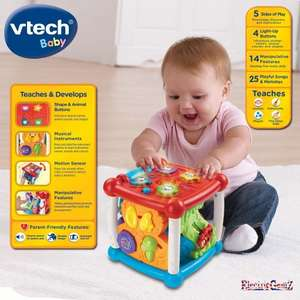 VTech Turn and Learn Cube for babies reduced to £11.99 @ Argos (C&C)