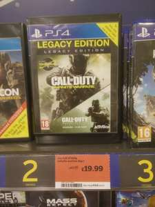 Call of Duty: Infinite Warfare - Legacy Edition (PS4) - £19.99 - Sainsburys in store (Thames)