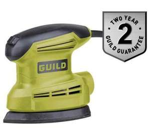 Guild 135W detail sander £14.99 ( was £22.99 ) @ Argos C&C