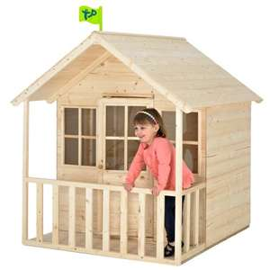 TP Summer Lodge Outdoor Playhouse, Childrens Garden Wendy House £169.99 @ Toys R Us
