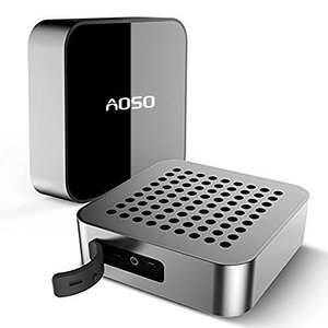 AOSO Rechargeable Waterproof Bluetooth Speaker £7.99 (Prime) Sold by Aosotech UK Store and Fulfilled by Amazon.