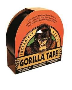 Gorilla Glue Gorilla Tape (GRGGT32) 32m x 48mm £5.16 del @ BSO (+1% TCB) EXPIRED NOW - GONE UP TO £12.11.