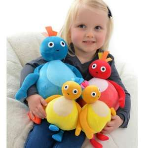 Twirlywoos Large Soft Toy Gift Pack reduced to £15.99. Contains all 4 twirly woos characters (free c+c) @ Toys r us