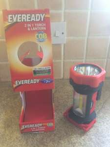 EverReady 2 in 1 LED Torch/Lantern £7.50 to £3.99 @ B&M