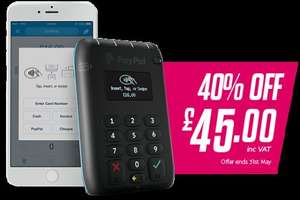 PayPal Here Card Reader £45 FREE Delivery