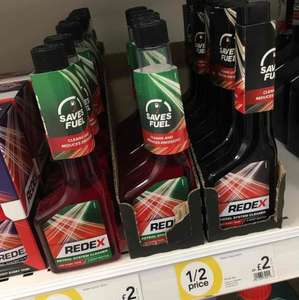 Redex Vehicle System Cleaner - Diesel and Petrol £2 in Wilko