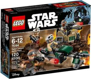 Rebel-Trooper-Battle-Pack-75164 £7.19 / £11.18 delivered @ Lego