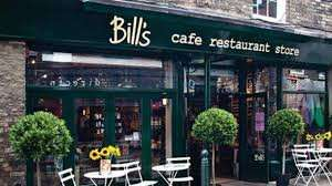Bill's Restaurants - Enjoy a bottle of wine on us (up to the value of £20) when you order two main courses