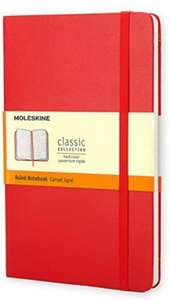 Moleskine Pocket Ruled Notebook - Red £4.00 (Add-on item) at Amazon
