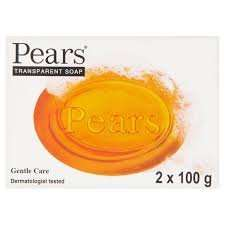 Pears soap 2 x 100g Bars. Original Boots instore 89p