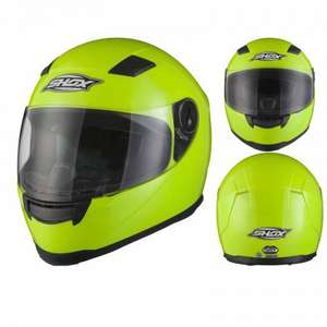 Shox Sniper Hi-Vis Yellow Motorcycle Helmet £23.99 @  bikingoutlet eBay / Agrius Rage Charger £29.99 (Various colours) Ghostbikes / Ebay