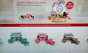 Good Yankee Candle Offer £4.99 @ weeklydeals4less