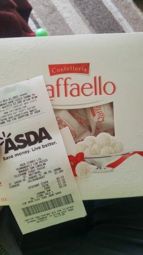 Ferrero Raffello £1.25 @ Asda instore - Walsall