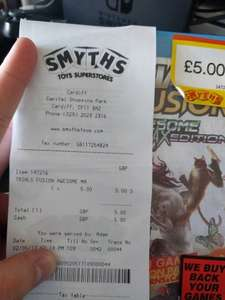 Trails Fusion PS4 Physical version with Season Pass - £5 instore @ Smyths Cardiff