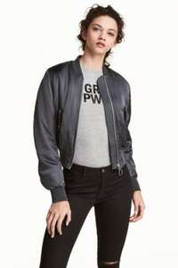 15% off and free delivery on orders over £75 (e.g. bomber jacket for £6.37 down from £29.99) @ H&M