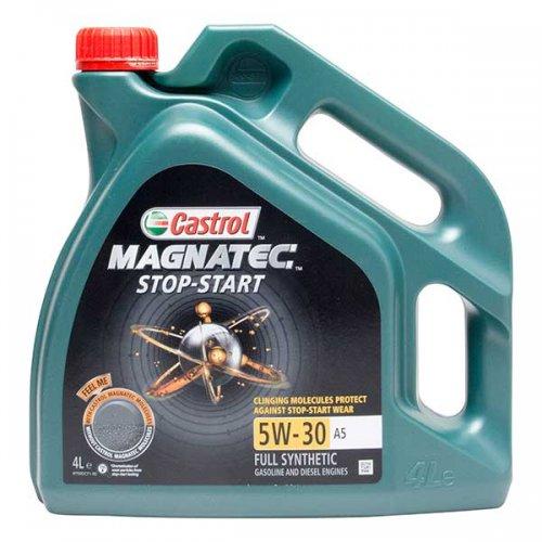 Castrol Magnatec Stop Start 5w30 A5 spec 4l oil £24.22 @ Carparts4less