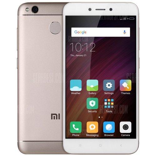 Xiaomi Redmi 4X 4G Smartphone  2GB RAM 16GB ROM  CHAMPAGNE GOLD £96.24 @ Gearbest