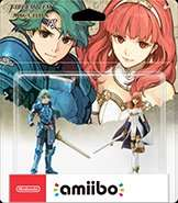 Fire Emblem Echoes Amiibo [Alm & Celica] £10.99 Each Pre Order Amazon Back in Stock