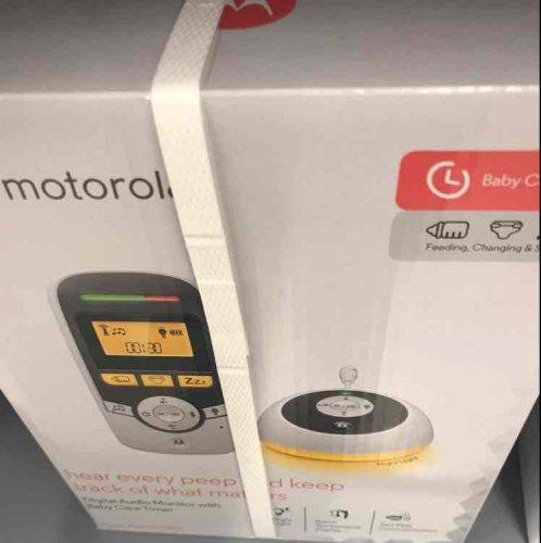 Motorola MBP161 Timer Audio Baby Monitor £15 @ Asda - Southampton