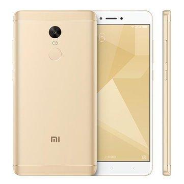 Xiaomi Redmi Note 4X Fingerprint 5.5-inch 3GB RAM 32GB 4100mAh Snapdragon 625 Octa-core 4G Smartphone (Gold Version £123.03) @ Banggood