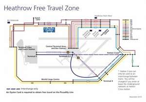 Free travel to many Heathrow hotels (if you walk a bit)  Heathrow free flow travel zone - saving £4.50/person