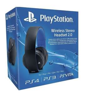 Sony PlayStation Wireless Stereo Headset 2.0 - Black (PS4/PS3/PS Vita). Used Very Good, Amazon Warehouse. £40.70 after discount.