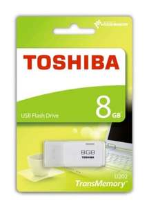 Toshiba 8GB TransMemory U202 USB Flash Drive £2.99 Delivered @ eBuyer