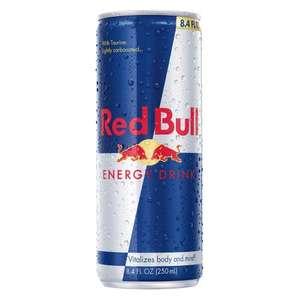 Free can of Red Bull for Students
