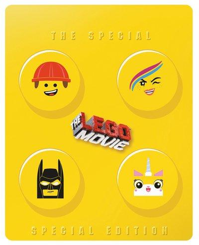 The LEGO Movie Blu Ray Steelbook £7.99 @ HMV online
