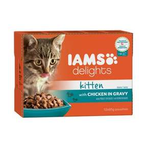 Iams Kitten Wet Food £3.50 on Amazon (Add-On unless you buy 6)