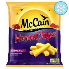 McCain Home Chips Chunky Cut (1Kg) was £2.60 now £1.30 @ Tesco