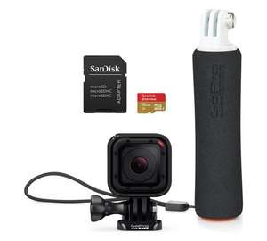 GoPro Hero Session with Handler & 16GB Sandisk SD Card £149 @ Argos