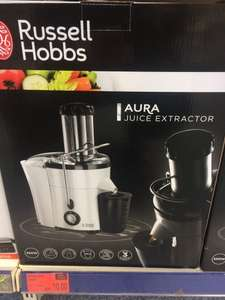 Russell hobbs juice extractor reduced to £10 at bm