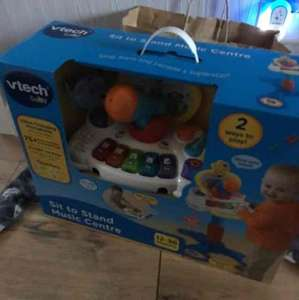 vtech sit to stand music centre £9.97 Tesco extra - Stockport