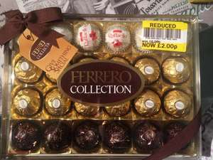Ferrero collection 24 pieces reduced to £2 instore at tesco pontefract
