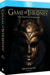 Game of Thrones 1-5 Blu-Ray Boxset PUREHMV Members ONLY £29.99