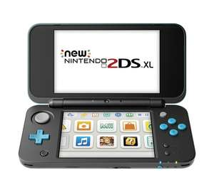 New Nintendo 2DS XL (Black and Turquoise or White and Orange) - £119.99 - Amazon