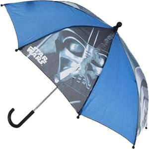 Licensed Star Wars Kids Umbrella £3.99 delivered @ eBay / giftwarehouse2017